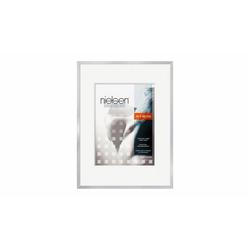 nielsen Bilderrahmen 63064 Metallbilderrahmen C2 30x40 cm in silber mat