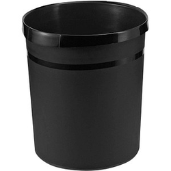 HAN GRIP KARMA Papierkorb 18,0 l schwarz