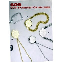 SOS Anhaenger m Notfallausweis
