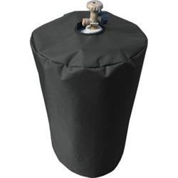 Grasekamp Schutzhülle Gasflasche 11 kg Gasgrill  Camping Plane Schutzhaube Polyester  Schwarz 300D