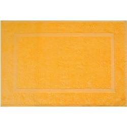 Badematte Kristall Dyckhoff, Höhe 2 mm, 2er Set Hotelmatte gelb 2-tlg. Badematte
