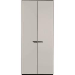 Loddenkemper Drehtürenschrank Malibu 2 türig grau 102 cm x 222,9 cm x 59,5 cm