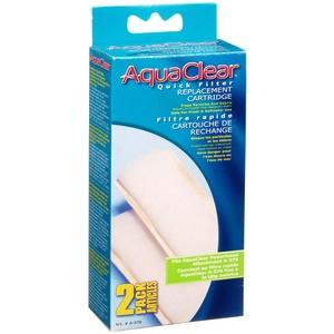 AquaClear Ersatz-Filtereinsatz für Schnellfilterpatrone, 2er-Pack
