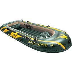Schlauchboot Seahawk 4 Set, 4-tlg. dunkelgrün