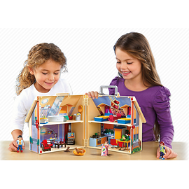 Playmobil Dollhouse Neues Mitnehm-Puppenhaus (5167)