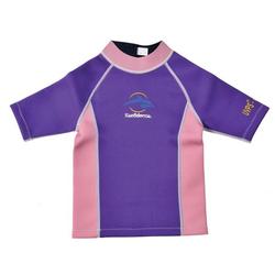 Konfidence Neoprentrikot Neopren Shirt - Neopren für Kleine und Große violett/pink 8-10 Jahre