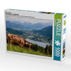 Oberallgäuer Landschaft Lege-Größe 64 x 48 cm Foto-Puzzle Bild von TomKli Puzzle