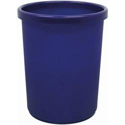 Papierkorb rund 33l blau