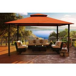 Paragon Outdoor Aluminium Pavillon Kingsbury 11x14 rost 330x450 cm
