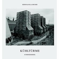 Kühltürme als Buch von Bernd Becher/ Hilla Becher