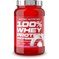 Scitec Nutrition 100% Whey Protein Professional Erdbeere-Weiße Schokolade Pulver 920 g