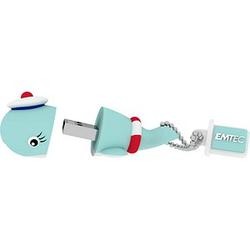 EMTEC USB-Stick Animalitos Marine Wal Matrose 16 GB
