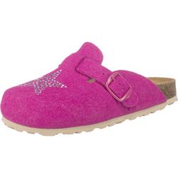LICO Hausschuhe BIOLINE CLOG STAR für Mädchen pink, Größe 35, 3796440