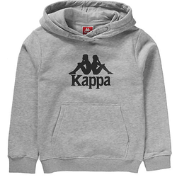Kinder Sweatshirt mit Kapuze TAINO grau Gr. 128