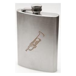 Flachmann mit Musikmotiv Art of Music Trompete