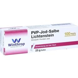 PVP JOD Salbe Lichtenstein 25 g