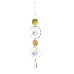Masbekte Dekoobjekt, Kristall Kugel, Regenbogen, Sonnenfänger, Anhänger, Prismenkugel Fensterdeko, Dekor