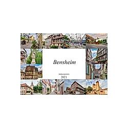 Bensheim Impressionen (Wandkalender 2021 DIN A3 quer)