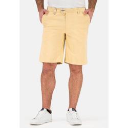 Brühl Shorts (1-tlg) mit spezieller Bundlösung gelb 30