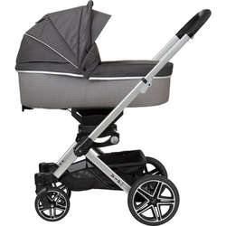 Hartan Kombi-Kinderwagen Vip GTX, mit Falttasche; Made in Germany grau