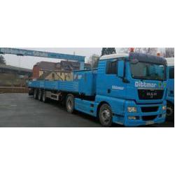 Herpa 914895 MAN TGX XL Europritschen-Sattelzug 2a/3a Dittmar 1:87