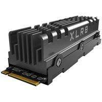PNY XLR8 CS3140 M.2 NVMe Gen4 x4 Internal Solid State Drive (SSD) mit Heatsink 2TB, Lesegeschwindigkeit bis zu 7500 MB/s, Schreibgeschwindigkeit bis zu 6850 MB/s