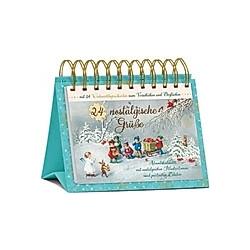 24 nostalgische Grüße  Tisch-Adventskalender - Kalender
