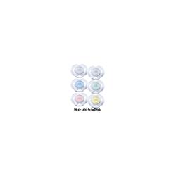 AVENT Schnuller durchsichtige Designs 0-6 Mon. 2 St