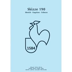 HAHNEMÜHLE Skizzenblock Skizze 190 DIN A4