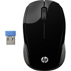 HP Wireless 200 Funk Maus Optisch Schwarz
