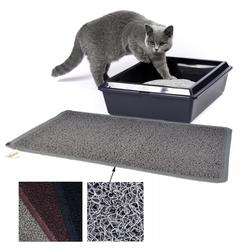 Vorleger aus PVC für Katzentoiletten - Katzenklo Fußmatte für Katzen 40 x 60 cm