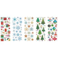 Folia Sticker Weihnachten, 5 Blatt