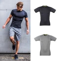 Herren Slim-Fit T-Shirt   Tombo
