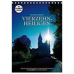 Vierzehnheiligen (Tischkalender 2021 DIN A5 hoch) - Kalender