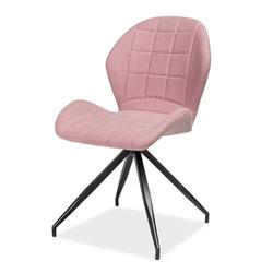 Krzesło Lasel różowe podstawa statyw