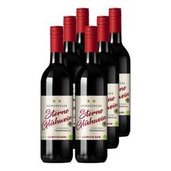 Gerstacker Nürnberger Sterne Glühwein Alkoholgehalt 11,0% vol 6 x 0,745 Liter