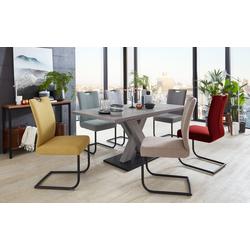 Niehoff Stuhlgruppe 3061/3263 in Beton-Optik