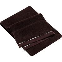 Esprit Box Solid Handtuch 2 x 50 x 100 cm chocolate