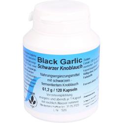 BLACK GARLIC schwarzer Knoblauch Kapseln 120 St