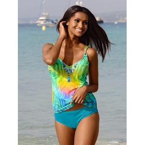 Sunflair, Tankini mit Kettenmotiv, multicolor