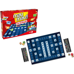 Noris Spiel, Mau Mau - Brettspiel, Made in Germany