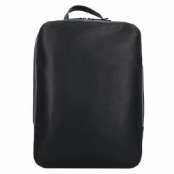 Jost Futura Rucksack Leder 39 cm Laptopfach black