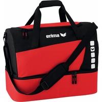 Erima Club 5 L mit Bodenfach rot/schwarz