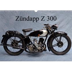 Zündapp Z 300 (Wandkalender 2021 DIN A3 quer)