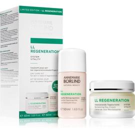 Annemarie Börlind LL Regeneration Vitalisierende Tagescreme 50 ml + Sanfte Reiningungsmilch 50 ml Tagespflege-Set