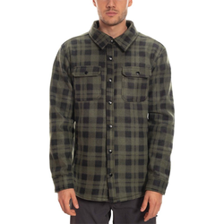 Sweatshirt 686 - Sierra Fleece Flannel Dark Green Plaid (DKG)