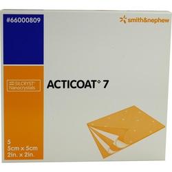 Acticoat 7 Antimikrobieller 7Tage Verb 5x5cm