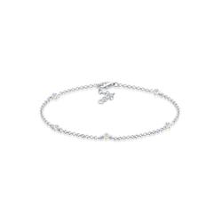 Elli Armband Kristalle 925 Sterling Silber, Kristall Armband weiß 19