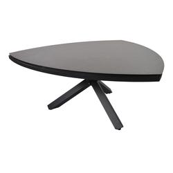 Gartentisch mit einem Gestell aus Aluminium in anthrazit und einer Keramik Tischplatte, Maße: B/H/T ca. 170/74/170 cm