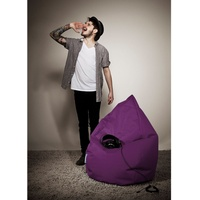 Sitting Point BeanBag Brava aubergine 70x110 cm